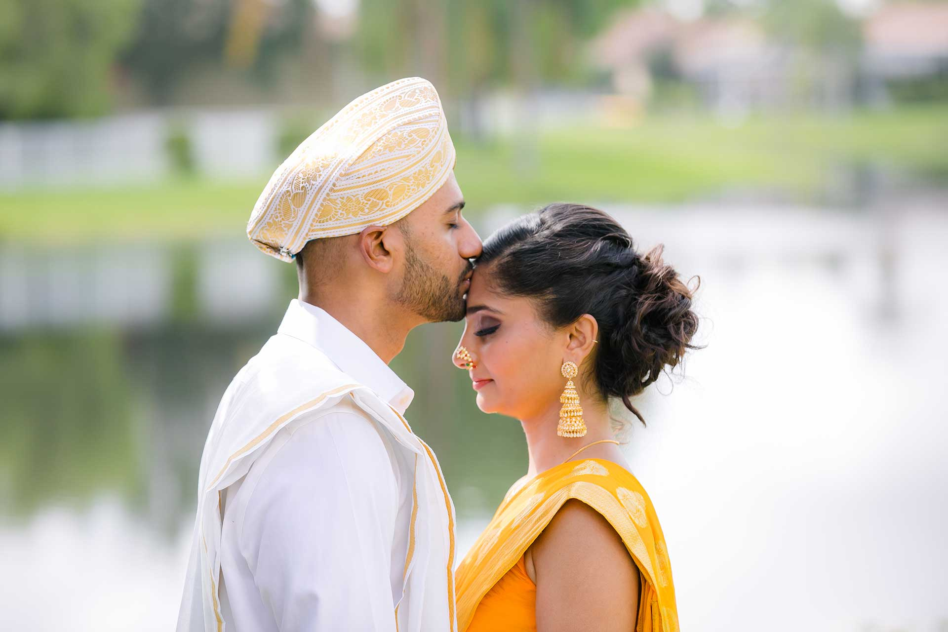 Intimate posing ideas for couples indian wedding photographer