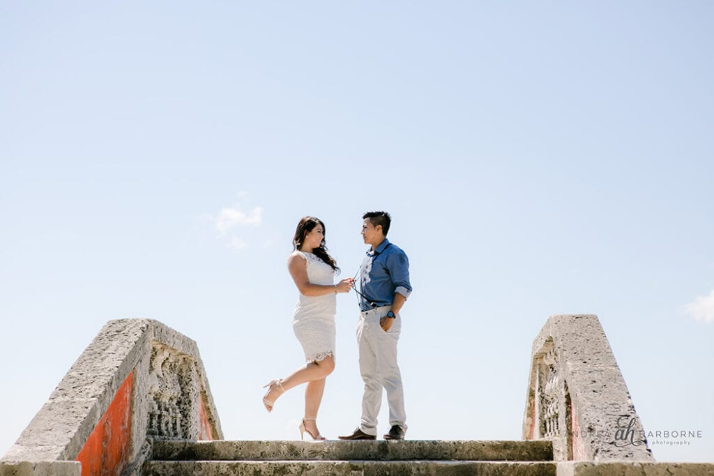 Vizcaya Museum and Gardens, Miami engagement photographer