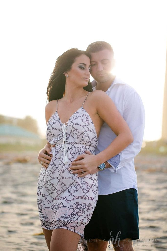South Florida Beach Engagement | Andrea Harborne Photography