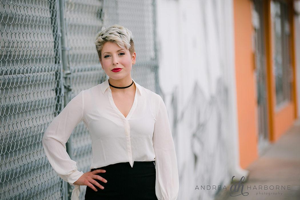 Portrait + Lifestyle image at Fort Lauderdale Art Walk