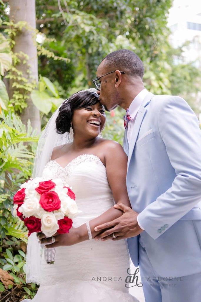 beautiful bride + groom