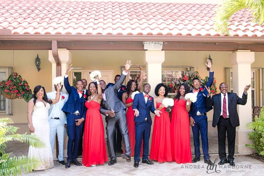 bridal party in fort lauderdale
