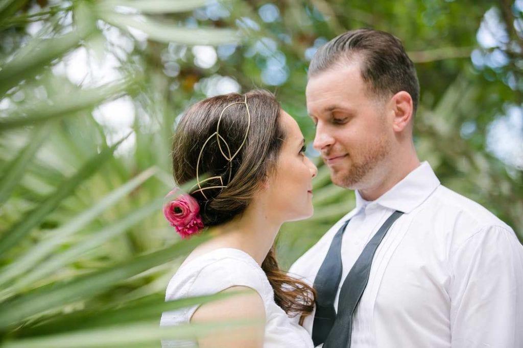 unique head piece for bride