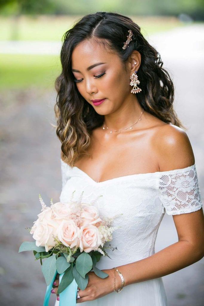 beautiful rose bridal bouquet