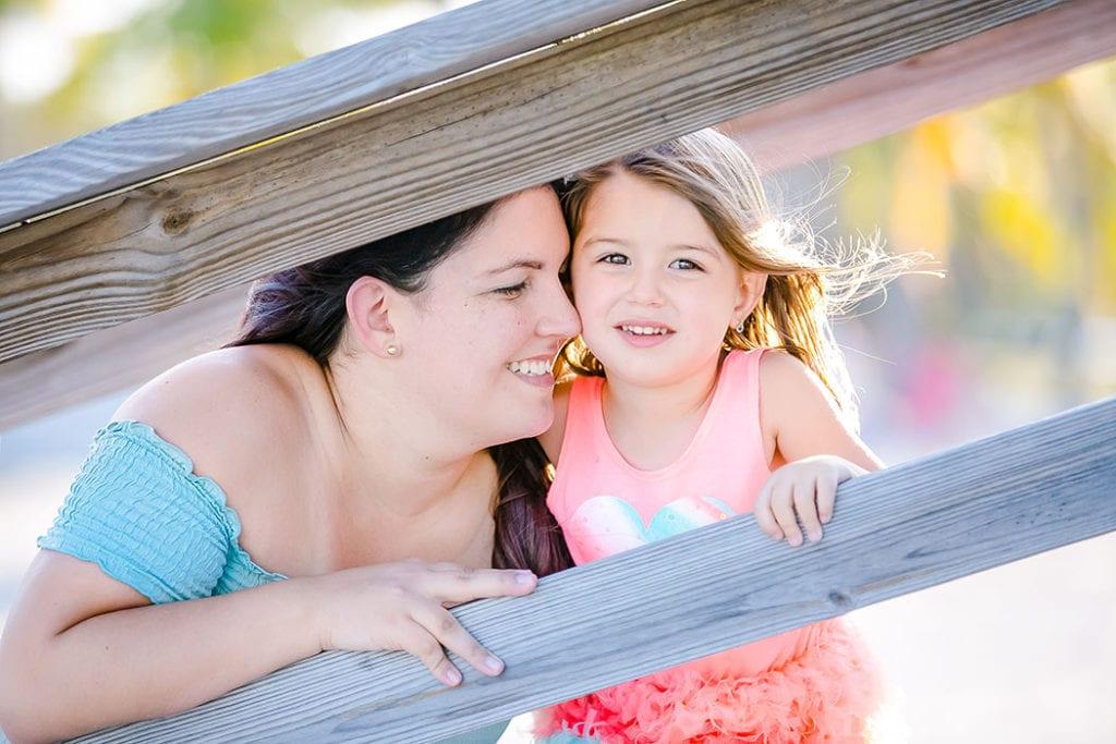 family photoshoot in matheson hammock park