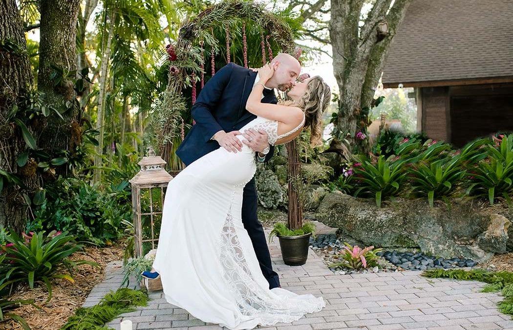 Modern wedding at living sculpture sanctuary davie natalia ryan junglespirit Choice Image