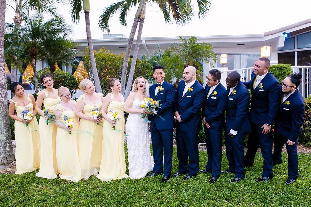 Lighthouse Point Yacht Club Nautical Themed Wedding