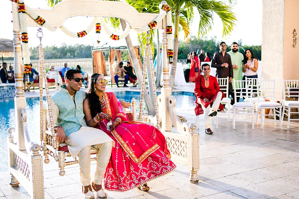 south florida indian wedding photographer | bahia mar indian wedding