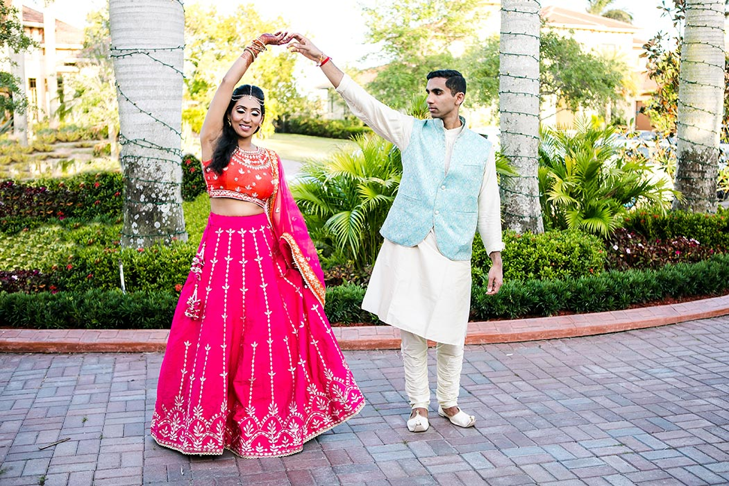 south florida indian wedding photographer, bahia mar indian wedding