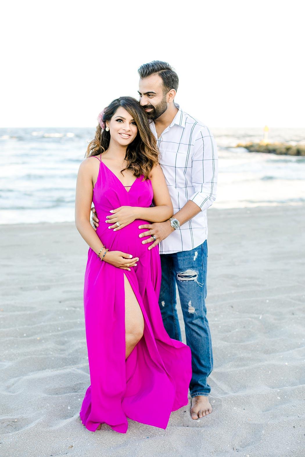 South Florida Beach Maternity Photoshoot