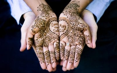 Henna Save The Date Engagement Photoshoot | Fort Lauderdale Indian Wedding Photographer