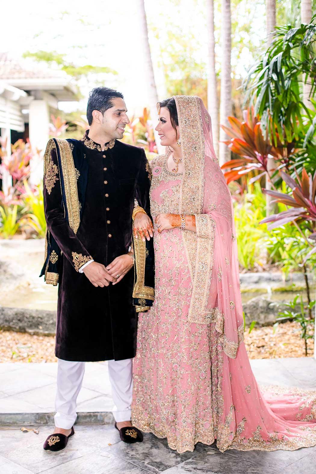 indian wedding held at bonaventure resort and spa, weston | south florida indian wedding photographer