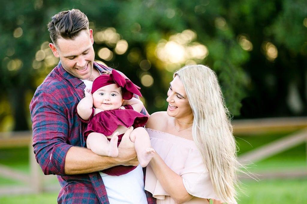 family portfolio page